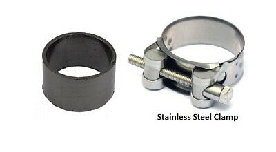 Exhaust seal and clamp to Silencer Honda TL 125 K 1973-1975