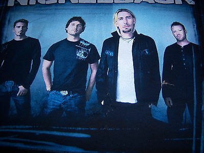 2003 licensed NICKELBACK t shirt - VIP - (M)