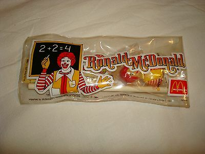 RONALD MCDONALD Vintage Pencil Set McDonald's Canada 1984 - EUC