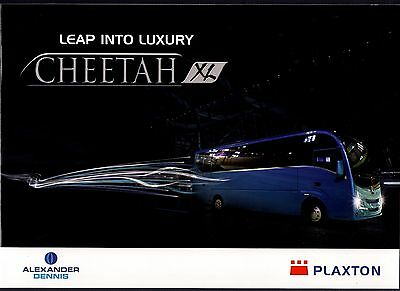 Manufacturers Promotional Brochure ~ Plaxton Cheetah XL - Mercedes Atego:  2015