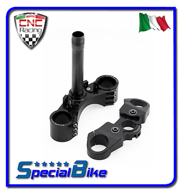 Ducati Monster 796 2010 > 2016 Set Piastre Di Sterzo Cnc Racing Ergal