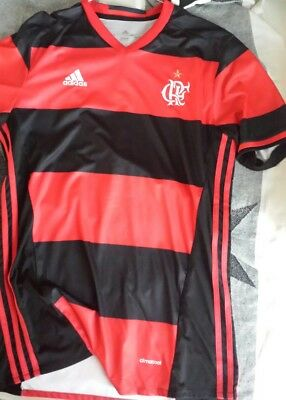 Flamengo Home Soccer Football Jersey Shirt - 2015 2016  Tg xl