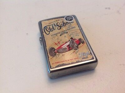 2015 Old School Race Club Zippo Lighter New Unstruck