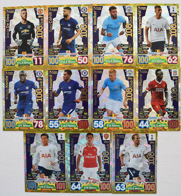 MATCH ATTAX 2017/18 LIMITED EDITION HUNDRED 100 CLUB MAN OF THE MATCH MoM SKILL