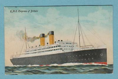 R.M.S. EMPRESS OF BRITAIN (1906-1924) .. Canadian Pacific Line