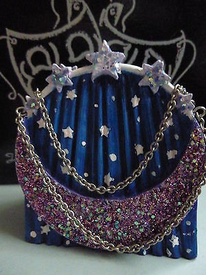 Boxed Willow Hall Starry Starry Night Handbag Sparkling Tinsel Central Stage