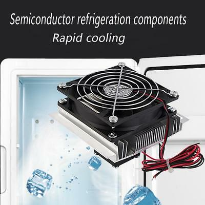 Thermoelectric Peltier Refrigeration Rapid Cooling System Kit Cooler Fan 60W AU