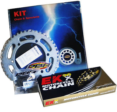 Aprilia Mana 850 Gt / Abs 2011 > Pbr / Ek Chain & Sprockets Kit 525 Pitch