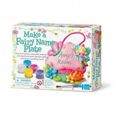 Make a Fairy Name Plate. Great Gizmos. Brand New