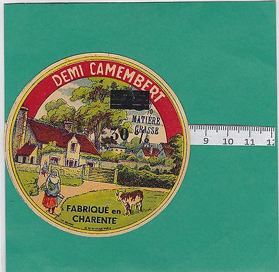 K569 Fromage Demi Camembert  Charente