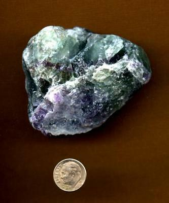 Fluorite - Raw Gemstone Large 262 grams     Lot #1      ~  Cleansing/Intuition