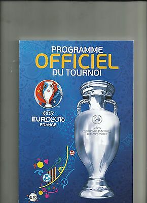 EURO 2016 official programme (French version)