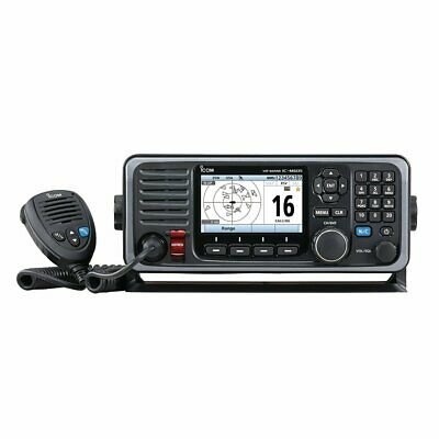 Icom M605 Fixed Mount 25W VHF w/Color Display & Rear Mic Connector M605 11