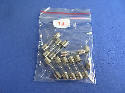 Slow Blow Glass Tube Fuse Assorted Kit, 5x20mm 11 value total 110pcs assortment