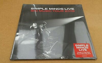 Simple Minds Live Big Music Tour Record Store Day Rsd Mint