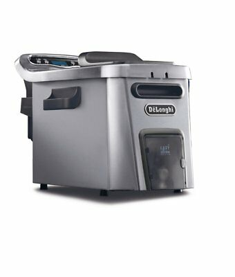 DeLonghi D44528DZ Livenza Dual Zone Digital 4.5L Deep Fryer with Easy Clean