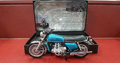 1:12 Minichamps - Honda Gl 1000 Gold Wing - Candy Blue Green