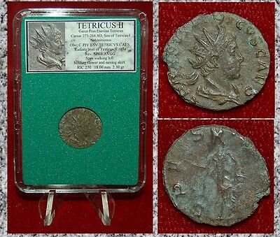 Ancient Roman Empire Coin Of TETRICUS II Spes On Reverse Antoninianus