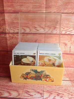 AUSTRALIAN WOMENS WEEKLY Recipe Card File Set Boxed GC. Nc.