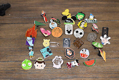 Disney Trading Pins Lot of 33 Mickey Pixar Tsum