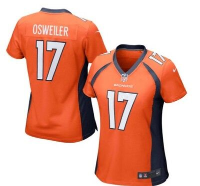 New Nike Women's NFL Denver Broncos--Brock Osweiler #17 Game Jersey