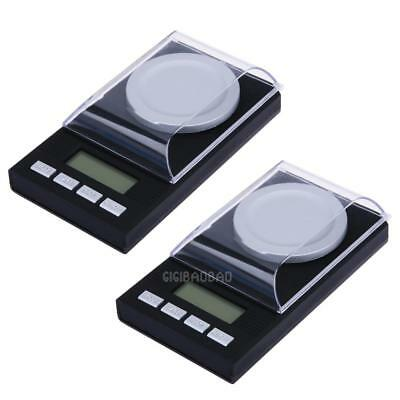 Hot Mini Jewelry LCD Digital  Scale Lab Weight Milligram Scale Medicinal Herbs