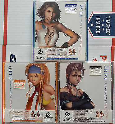 Final Fantasy X-2 Vocal Collection - Yuna Rikku Paine CD DVD soundtrack - NEW