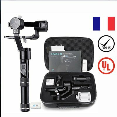 Zhiyun Crane-M 3 Axis Brushless Handheld Gimbal Stabilizer for 125g-650g CamePL