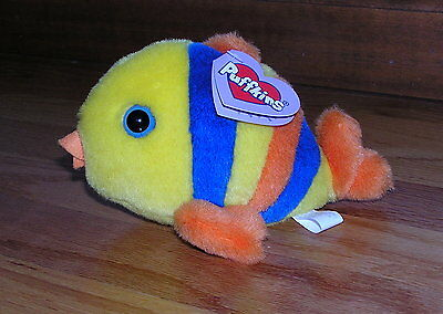 1998 Puffkins Jules the Fish Mint with tags
