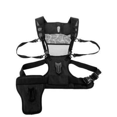Camera Carrying Chest Harness System Vest with Side Holster for universal DSLR