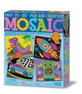 Easy to Do Mosaic Pictures 4M Kit By Toysmith