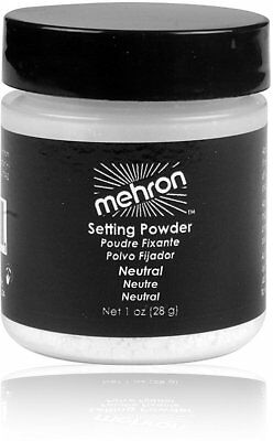 Neutral Setting Powder, MEHRON MAKEUP, 1 oz jar