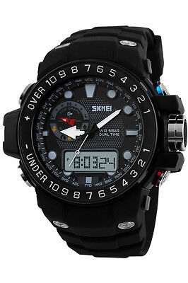 Outdoor SKMEI 1063 Sport Watches Waterproof Analog Digital LED Casual Wristwatch