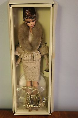 The Interview Barbie from 2007 Gold Label NRFB Silkstone Excellent Condition