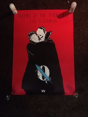 Queens of the Stone Age ...Like Clockwork promo poster 50x71cm Villains Boneface