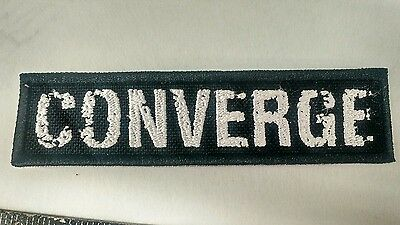 CONVERGE Embroidered Patch IRON ON/SEW ONIsis Cave In Mastodon