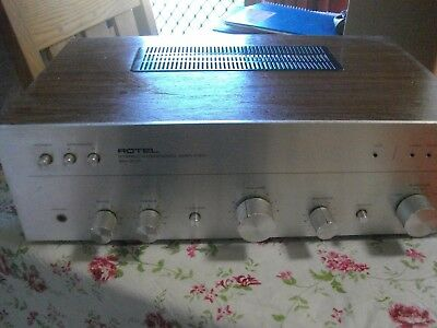 ROTEL STEREO INTERGRATED AMPLIFIER ra-3000