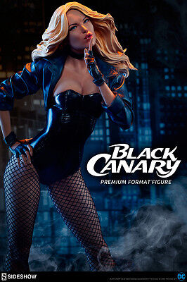 Sideshow Collectibles Black Canary Premium Format DC Sideshow Statue