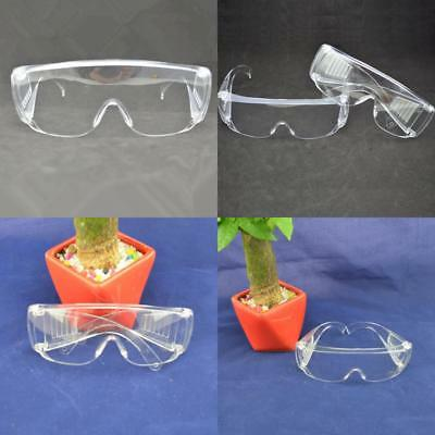 New Clear Lens Protective Safety Glasses Eye Protection Goggles Lab UK