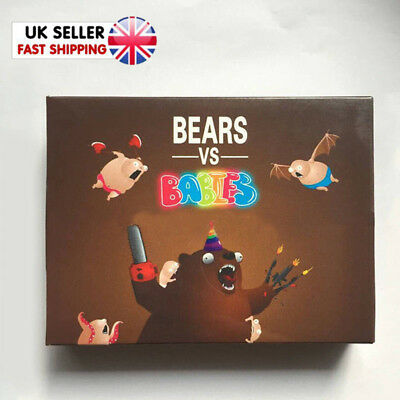 Bears vs Babies A Card Game From The Creators Of Exploding Kittens Family Games