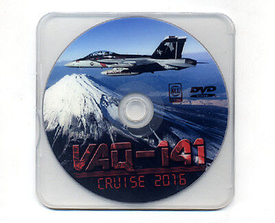 Usn/navy Vaq-141 Shadowhawks 2016 Cruise Dvd  Ea-18G Growler