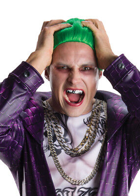 Suicide Squad The Joker Silver Fake Teeth