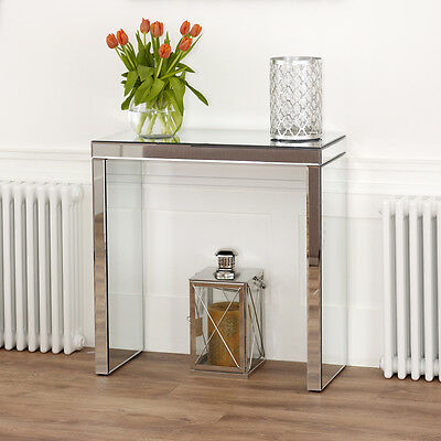 Venetian Mirrored Glass Compact Console Table - Hall Side - BRAND NEW - VEN38