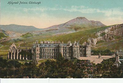 123 Postcard Holyrood Palace Edinburgh