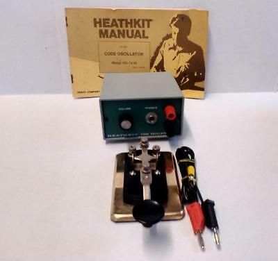 Heathkit Code Oscillator and Key