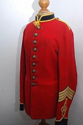 RARE Antique Edward VII Era Sergeant Major Royal Engineer's Jacket Not Perfect