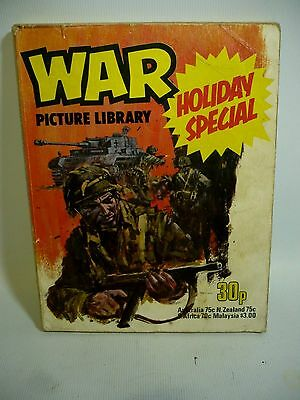 1977 War Picture Library Holiday Special - 4 Long Stories