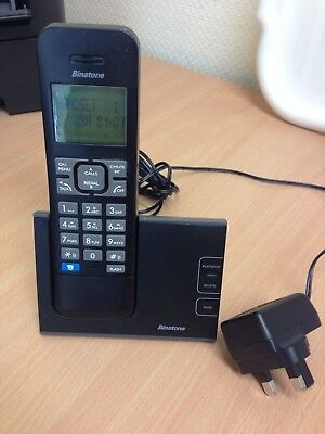 Binatone Defence 6025 Single Digital Cordless Telephone With Answer Machine