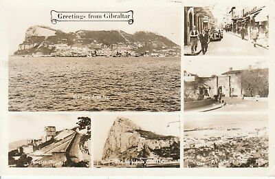 132 Postcard Greetings From Gibraltar