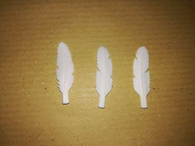 Playmobil:3 Plumes Pour Indien/ Indian Feather Indianerfeder Pluma  #199